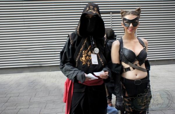 Pyrkon 2013 - Kobieta Kot