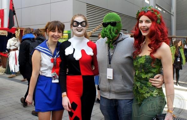 Pyrkon 2013 - cosplay z Cthulhu