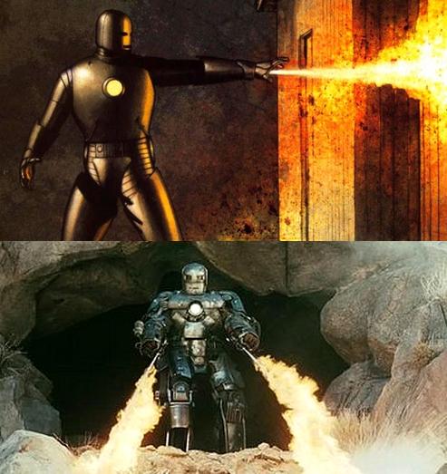 Iron Man - stara zbroja