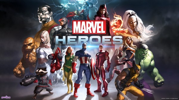 Marvel Heroes postaci