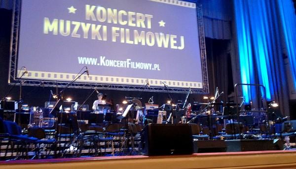 Koncert Muzyki Filmowej - głośnik