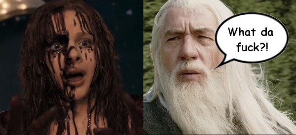Carrie VS Gandalf