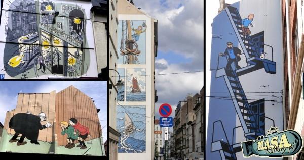 Belgijskie murale Fot. K. Koniecka